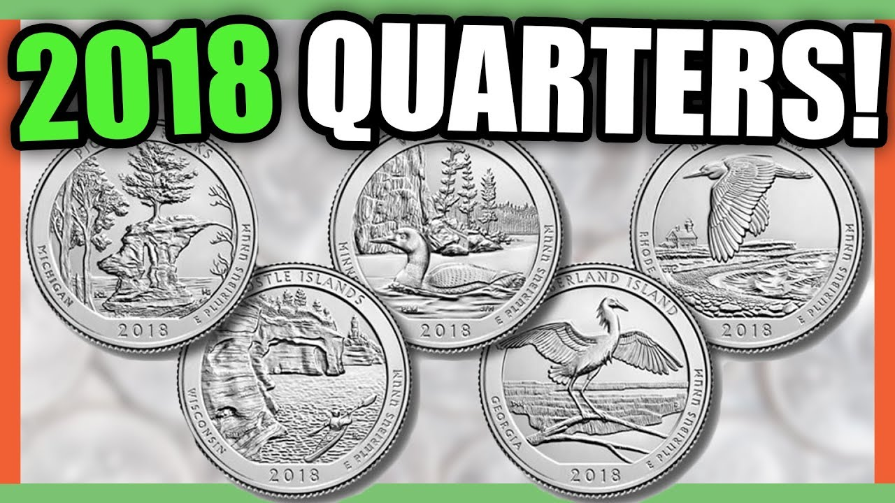 2018 QUARTERS TO LOOK FOR - WILL THEY HAVE ERROR COINS WORTH MONEY??