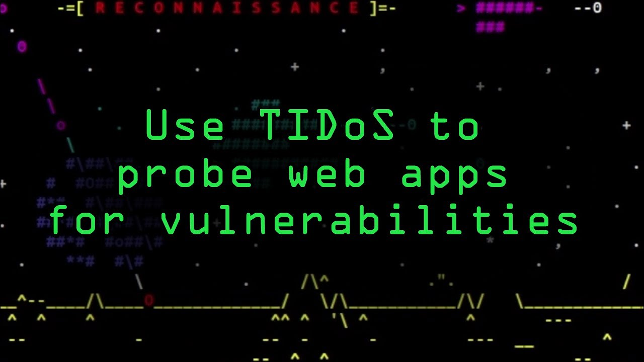 How to Probe Websites for Vulnerabilities More Easily with the TIDoS