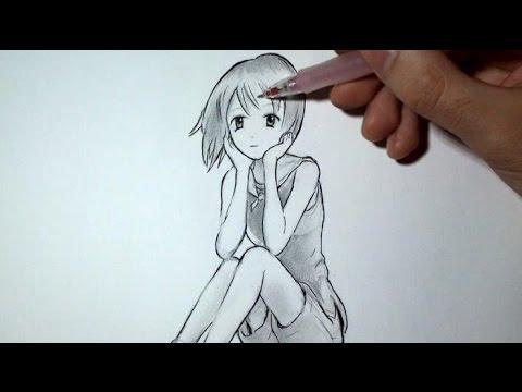 Comment Dessiner Un Manga Episode 1 Youtube