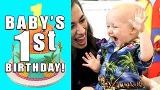 Baby Duncan's First Birthday Party!