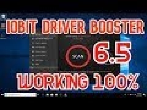 IObit Driver Booster Pro 6.5 + License key - YouTube