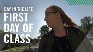 Day in the Life | First Day of School | University of North Dakota