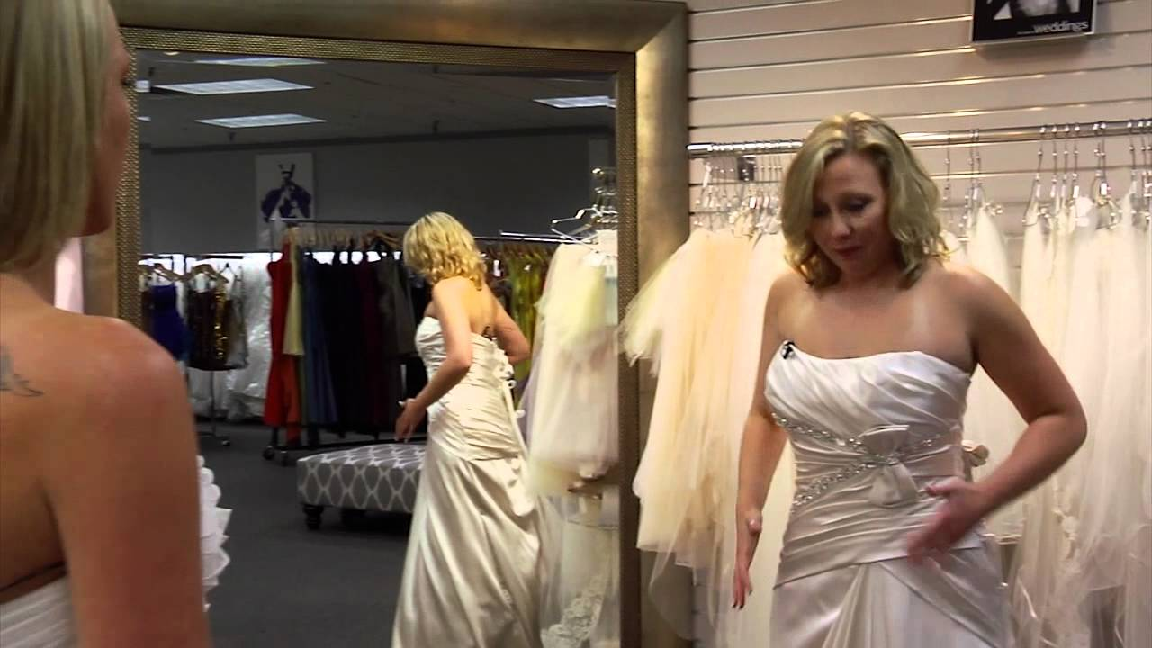 Finding the Perfect Wedding Dress- Two Friends Find Their Wedding ...
