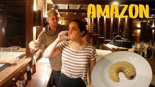 AMAZON NIGHT SAFARI - WORST thing I've eaten...