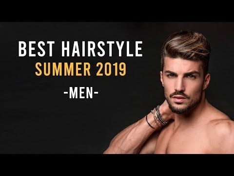 BEST HAIRSTYLE 2019 | MEN'S HAIRSTYLE  SUMMER 2019 | WITH TRAVELS TRAILER ✈️