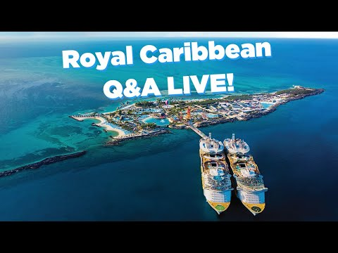 Ask Your Royal Caribbean Cruise Questions LIVE