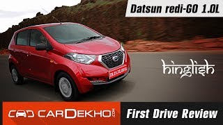 Datsun redi-Go 1.0L Review in Hinglish