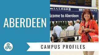 University of Aberdeen campus visit with American College Strategies, Aberdeen Scotland