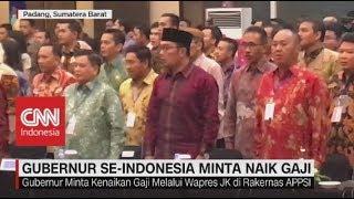 Gubernur Se-Indonesia Minta Naik Gaji