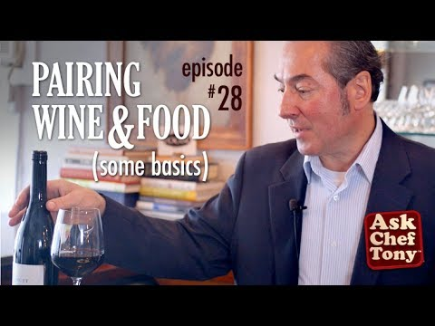 Pairing Wine with Food - Basic Video Tutorial Tips on How to Match Wine and Food