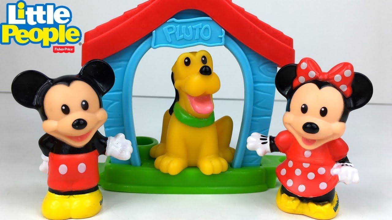 Das Haus Von Micky Maus Minnie Und Pluto Little People Magic Of Disney Unboxing Geschichte
