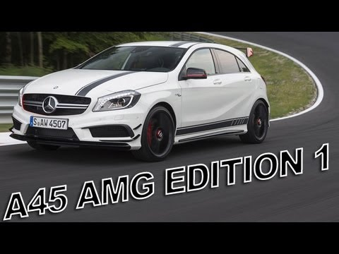 mercedes a45 amg edition 1 sound acceleration race mode launch control youtube. Black Bedroom Furniture Sets. Home Design Ideas