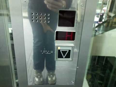 A Kogler elevator @ Klagenfurt Hbf Railroad Station, Austria