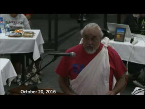 Perry White CDUA 10/20/16 TMT contested case hearing full video