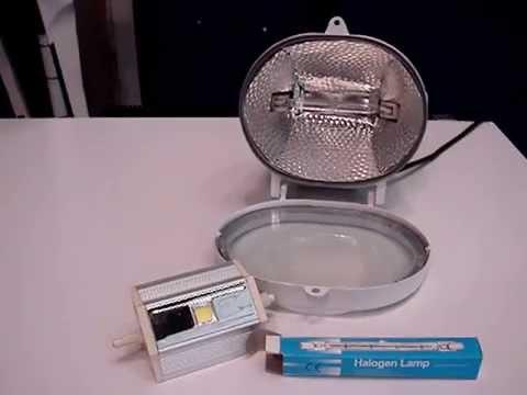 Como cambiar la nueva l mpara led de reemplazo halogenado for Lamparas halogenas led