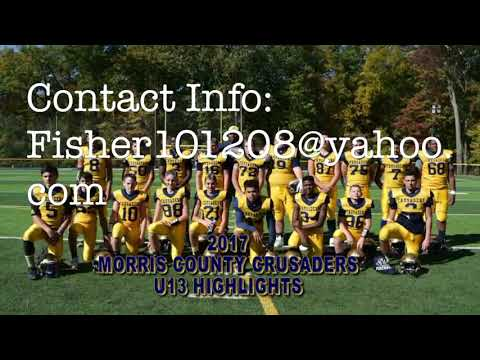THEO FISHER 7/8 GRADE HIGHLIGHTS. (MORRIS COUNTY CRUSADERS &JEFFERSON FALCONS