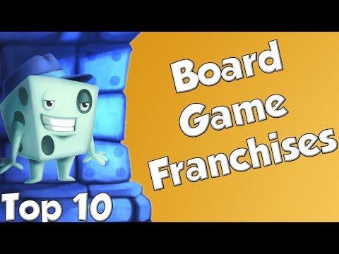 Top 10 Board Game Franchises - with Tom Vasel