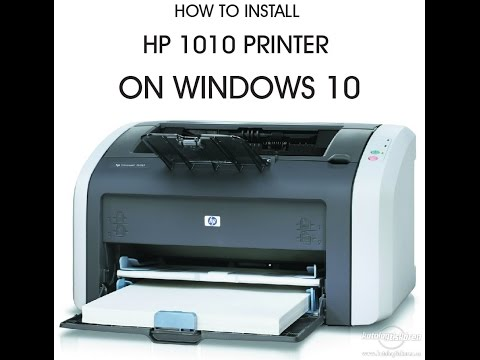 How To Install HP 1010 Printer On Windows 10 OS