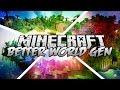Minecraft Mods - Better World Generation 4 - 100 New World Types!