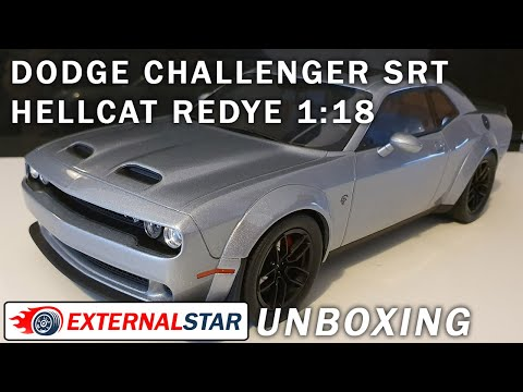 2019 Dodge Challenger SRT Hellcat Redeye 1:18 By GT Spirit | Unboxing & Review