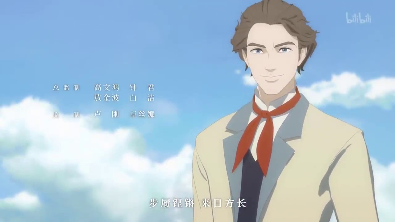 领风者 The Leader вождь Karl Marx Anime Opening