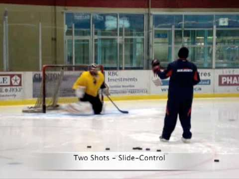 Pascal Keiser - Ice Hockey Goaltender - Basics, Drills & Live Plays