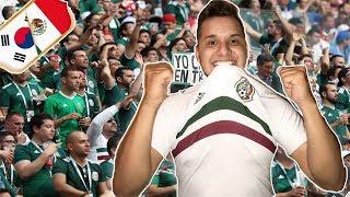 Mi Reacción al partido MEXICO vs COREA! Somos 2,000 SUSCRIPTORES!!!!  #Rusia2018 - Brandi El Chido