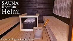 SAUNA Kontulan Helmi, Gran Canaria -kanariaTV.fi