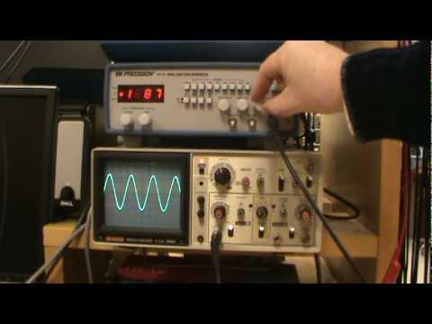 how to read an oscilloscope