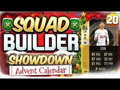 FIFA 18 SQUAD BUILDER SHOWDOWN!!! SIF LW SONALDO!!! Advent Calendar Day 20 vs AJ3FIFA