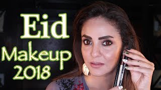How to Do Eid Makeup Step by Step | Makeup Tutorial || Nadia Khan