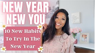 10 New Habits To Try For The New Year