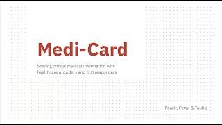 OGP Hackathon 2020 - Medi Card