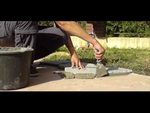 Видеоурок. Укладка натурального камня своими руками.