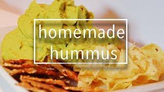 homemade hummus // VEGAN RECIPE