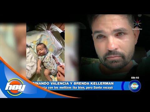 Ferdinando Valencia comparte el diagnóstico médico de su hijo | Hoy