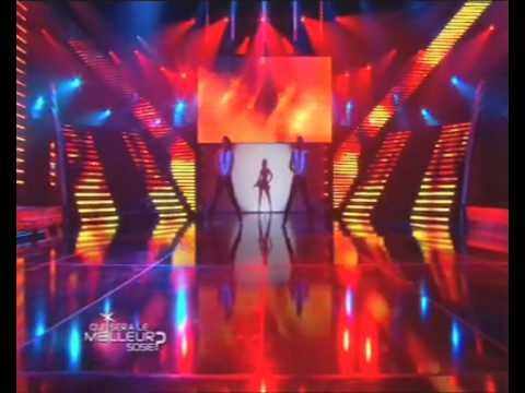 Lorna Bliss (Britney)  performing on ' Qui sera le meilleursosie ?' TF1 ,