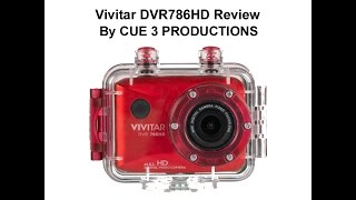 action cam vivitar dvr786hd review underwater bike ride low light by cue 3 productions