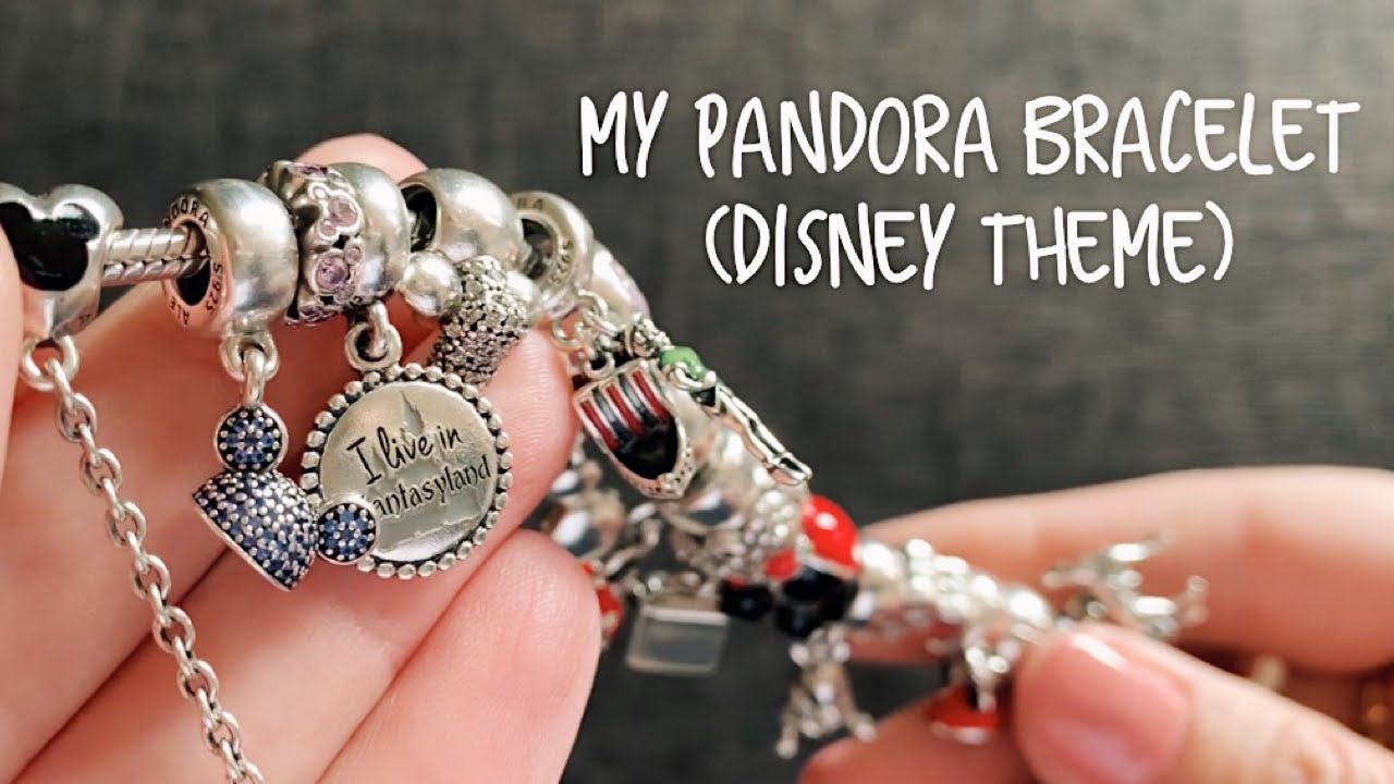 My Completed Disney Pandora Bracelet Youtube