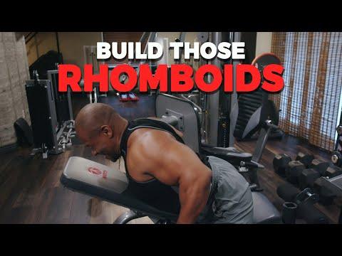 Rhom, What? RHOMBOID! Let's Build That Upper Back!