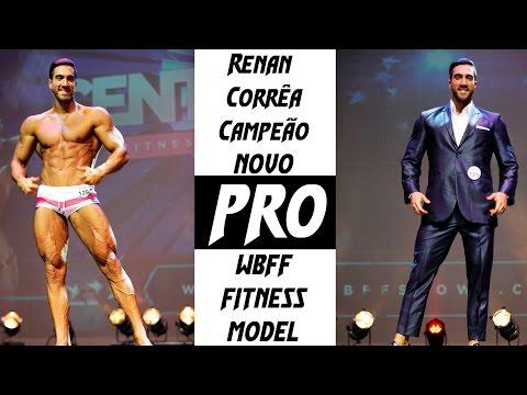 Renan Corrêa Competindo e Ganhando o PRO Card WBFF Fitness Model Kansas City