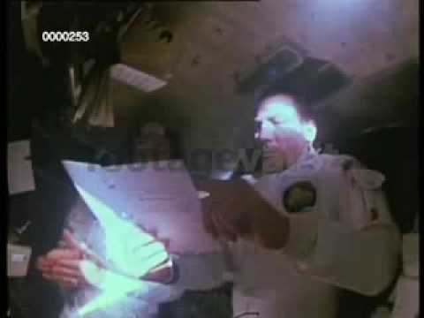 Apollo 13 onboards -- Jim Lovell and Jack Swigert