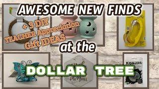 FANTASTIC NEW FINDS at the DOLLAR TREE + 2 BONUS TEACHER APPRECIATION DIY GIFT Ideas