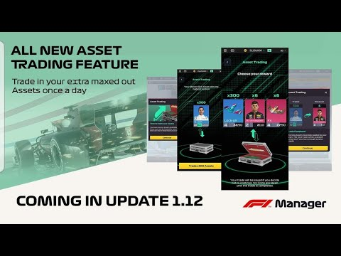F1 Manager| Live Stream Explaining Assets Trading Features