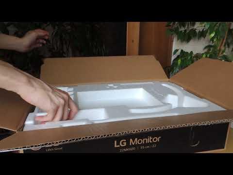 """Монітор 21.5"""" LG 22MK600M-B"""
