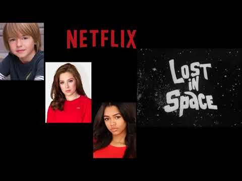 Netflix Lost in Space Set Visit: Maxwell Jenkins, Taylor Russell & Mina Sundwall