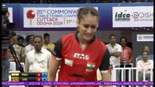 LIVE: 21st Commonwealth Table Tennis Championship 2019 | LIVE on DD Sports