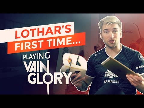 Lothar's First Time... Playing Vainglory