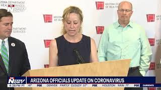 ARIZONA CORONAVIRUS LATEST: Gov. Doug Ducey, health officials update