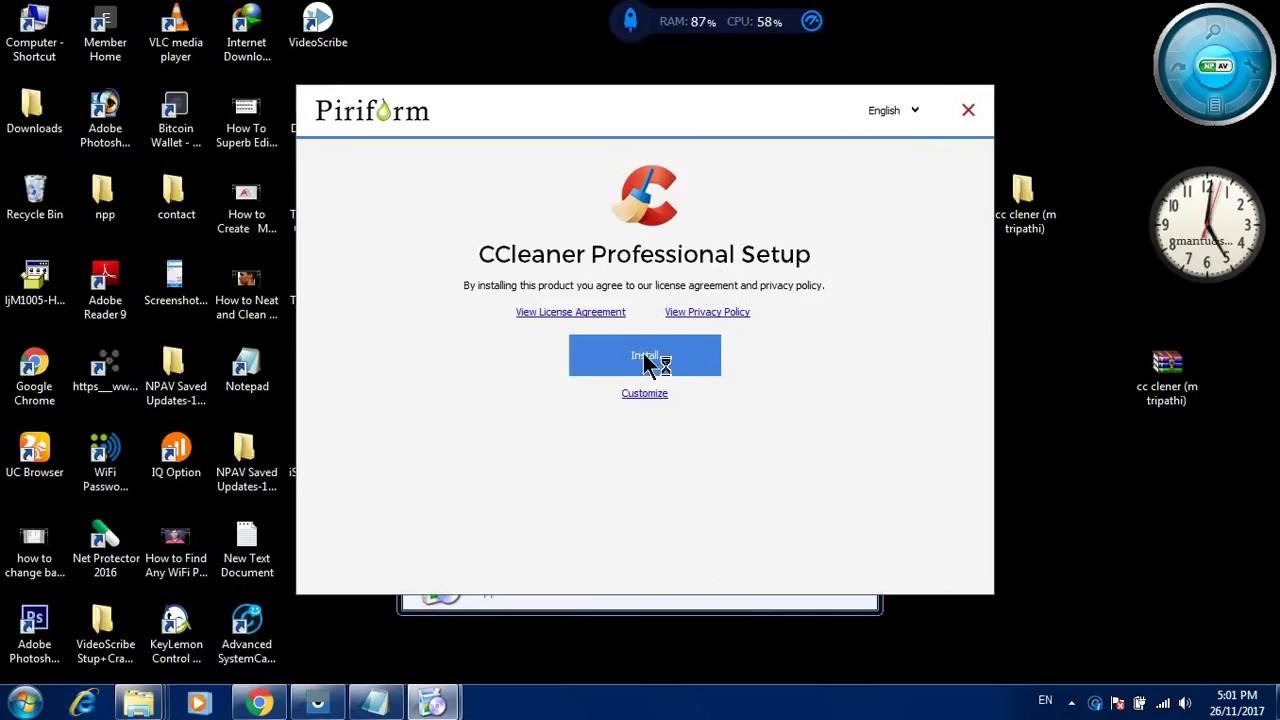 CCleaner Pro 5.33.6162 Serial Key Crack 2017 Full Version ...